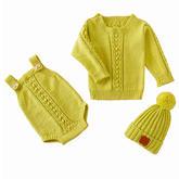 婴幼儿毛衣三件套编织视频教程(5-1)肩开扣套头毛衣织法