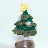 圣诞树织爱公益小帽编织图解过程