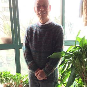 从上往下织男士育克毛衣 把自带袖马鞍肩简单化