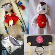 编织达人们手中的中国风及创意畅想 编织人生创意作品集