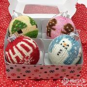 快圣诞节啦,这些可爱又实用的圣诞球你一定需要!