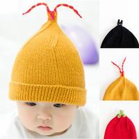 亲子缤纷趣味棒针帽子编织视频教程(3-3)番茄款帽子的编织方法
