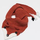 热款围巾编织视频教你织狐步舞围巾织法