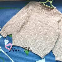w66.com利来国际帅气男童棒针羊绒衫