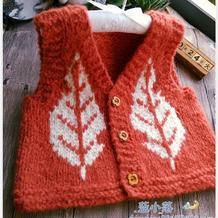 宝宝一片式针织小背心——枫景