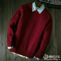 马上冬天啦,织件羊绒衫送给身边的小鲜肉吧!
