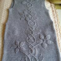 五十度灰--女士马甲背心式长袍