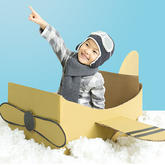 小小飞行员帽子 儿童趣味钩针护耳帽编织视频教程