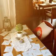 当蕾丝遇见咖啡 精美钩针蕾丝小桌布