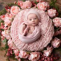 简洁毛线编织物与可爱小天使简单而美好 软萌萌温暖组图
