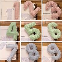 趣味毛线编织立体数字钩法图解