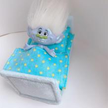 有一种买玩具叫娃跟妈去买百洁布 DIY娃娃家具