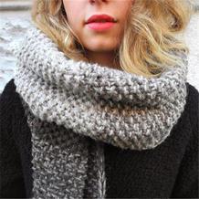 只需一点编织技术就可以与色彩温暖相拥