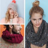 這個秋冬毛衣圍巾帽子成套織吧 法國Phildar2017-2018秋冬編織服飾欣賞