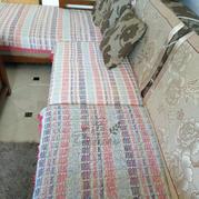 手工编织阿富汗钩针沙发垫