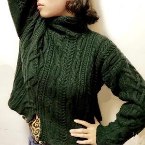 女士套头毛衣款式_云绒叁柒女士棒针宽松休闲套头毛衣-编织教程-编织人生