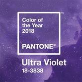 """神秘且富于创造想像力的2018年度色彩""""紫外光色"""""""