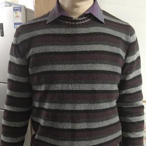 给老公织的温暖牌羊绒衫