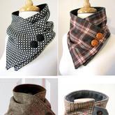 男女老幼都适合的围巾款式织起来却是非常的简单