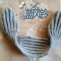 复古的冬日护耳装备 毛线耳套的编织方法