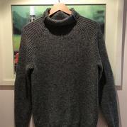 家用编织机SK280机织女士插肩袖毛衣