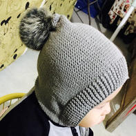新手也可以轻松完成的棒针宝宝帽子