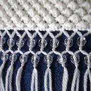 简单漂亮毛线编织围巾bulingbuling流苏的制作方法