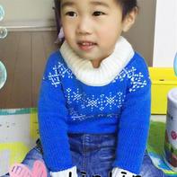 SK280机织男宝提花毛衣和卡通背心