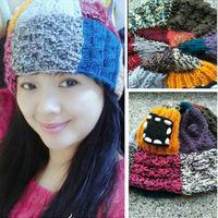 零线也能织帽子 简单好织有趣乞丐帽的织法