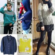 201803期周热门编织作品:春秋冬三季适用的10款手编毛衣款式