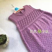 安琪兒 4股棉編織經典實用兒童棒針背心裙