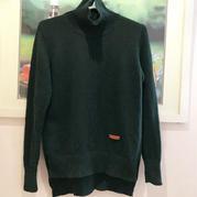 云杉绿 SKC280套机编织女士羊绒衫
