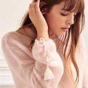 法国巴黎时尚品牌Sezane简洁性感毛衣 数万人翘首以盼