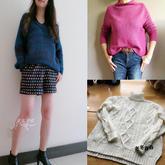 201806期周热门编织作品:6款经典时尚手编棒针毛衣
