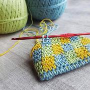 轻松简单编织小技巧 只需多一步钩针换色省时省力几分钟