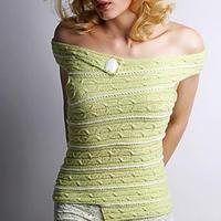 细致贴身结构奇特却简单易织的衣衣