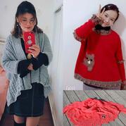 201807期周热门编织作品:7款时尚儿童女士手编毛衣款式