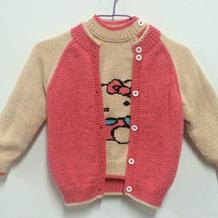经典实用宝宝三件套(从上往下织宝宝开衫、套衫与宝宝背心裙)