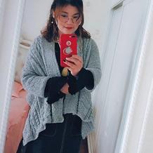 新手编织也无压力的女士棒针超美麻花开衫