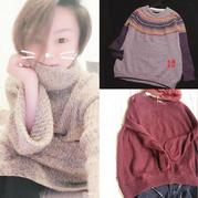 201810期周热门编织作品:最新精选2018手工编织毛衣款式(女士、中老年与儿童毛衣7款)