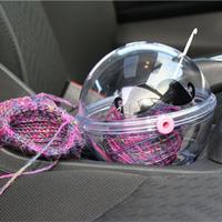 编织周边面面观 实用毛线收纳编织包、定型板与图解浏览工具