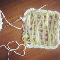 多一块布后毛线编织还可以这样玩 别致有趣编织花样