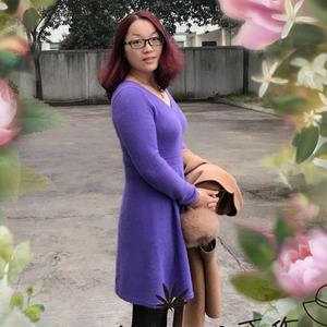 大摆叶舞 细针细线羊绒双股织女士棒针叶子花V领大摆裙