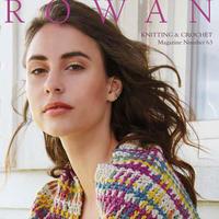织针毛线也玩出混搭 各式手工编织技巧组合尽现ROWAN63