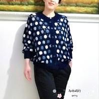 闺蜜的编织衫 实用大方云朵女士钩针拼花开衫