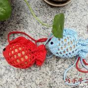 端午节金鱼袋 经典钩针蛋袋织法详细编织说明