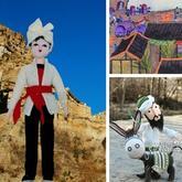 艺术家与编织达人用针与毛线展现中国传统艺术 每一个都令人叹为观止