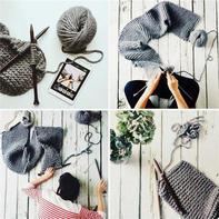 你是为了什么而开始编织的?众话对编织的一往而深