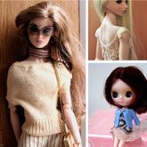 或许这才是资深编织人养娃时应该具有的节奏 日本编织师微型编织作品欣赏