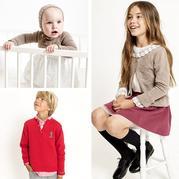 2018春夏儿童毛衣编织款式参考 西班牙品牌童装针织服饰欣赏
